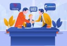 TRON & Steemit Partnership Comes Up