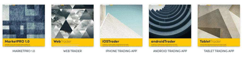 InvestXE Trading Platforms